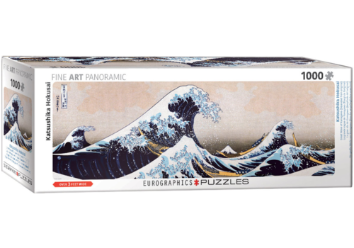 Eurographics Puzzles Hokusai - The great wave - 1000 pieces