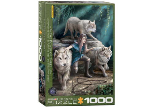 Eurographics Puzzles The power of three - Anne Stokes - 1000 pieces