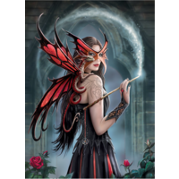 thumb-Spellbound - Anne Stokes - 1000 pieces - jigsaw puzzle-2