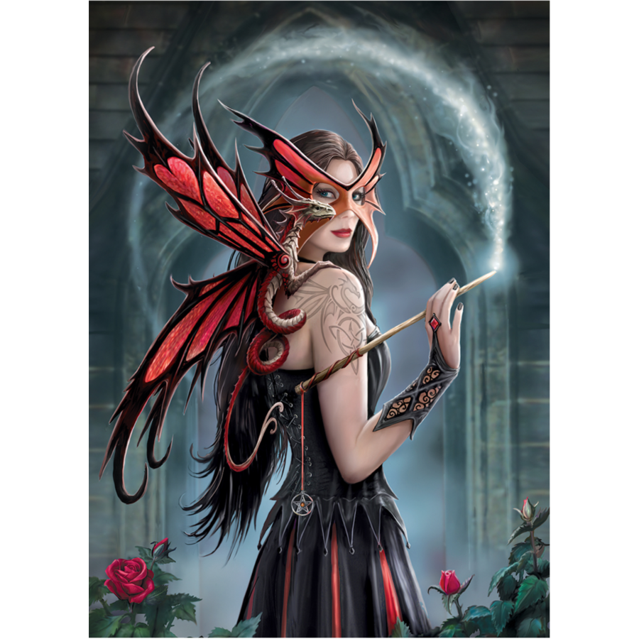 Spellbound - Anne Stokes - 1000 pieces - jigsaw puzzle-2