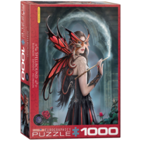 thumb-Spellbound - Anne Stokes - 1000 pieces - jigsaw puzzle-1