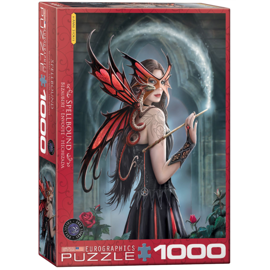 Spellbound - Anne Stokes - 1000 pieces - jigsaw puzzle-1