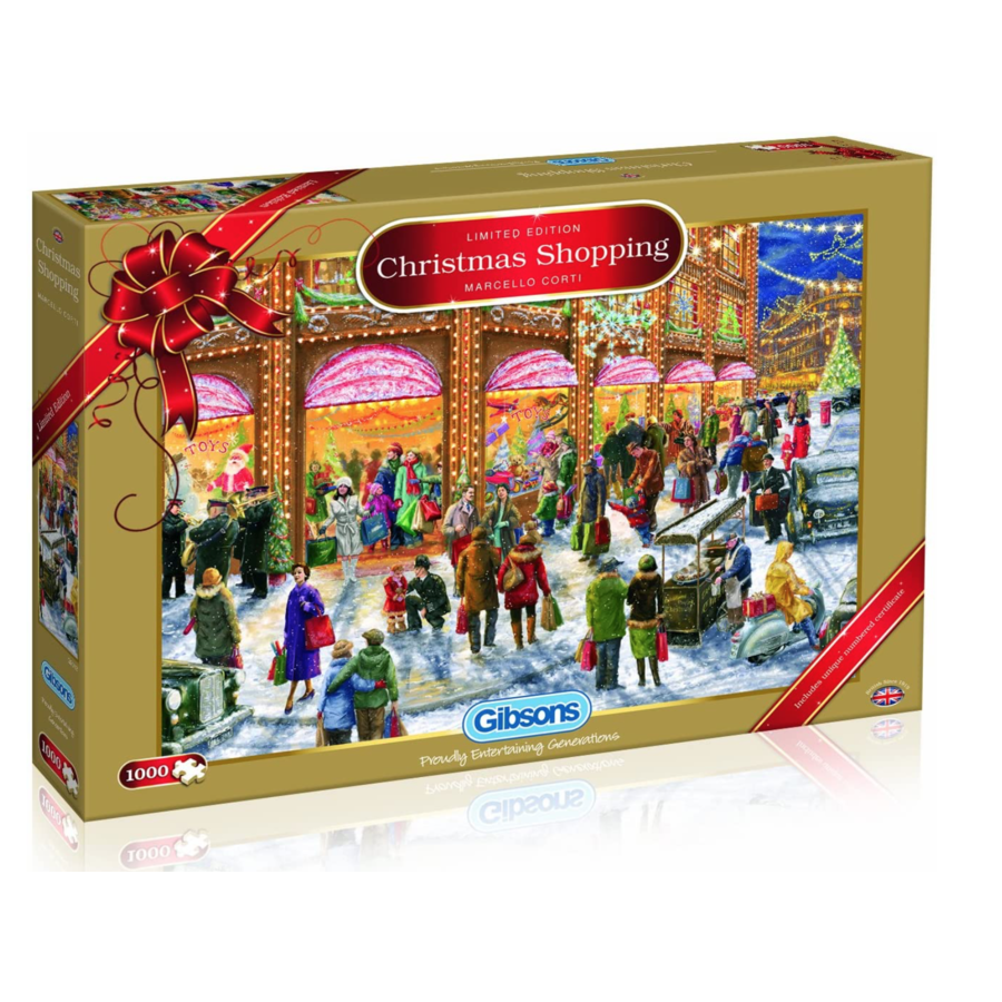 Christmas Shopping - Limited Edition - 1000 pieces-1