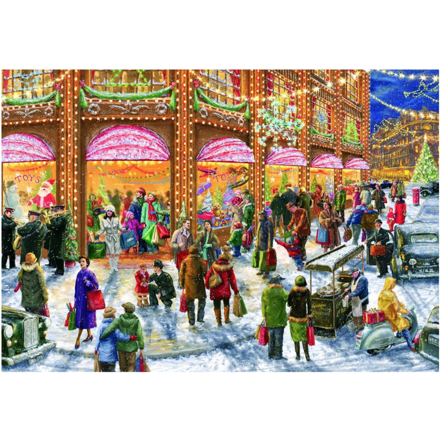 Christmas Shopping - Limited Edition - 1000 pieces-2