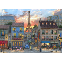thumb-Streets of Paris - puzzle of 4000 pieces-1
