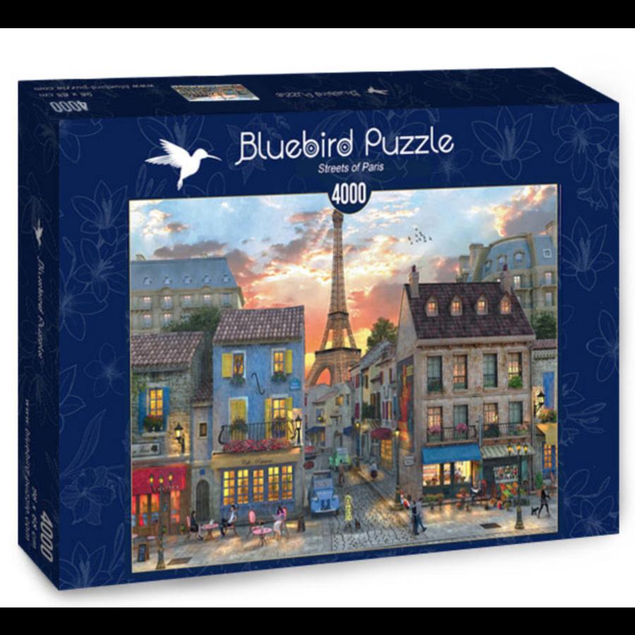 Streets of Paris - puzzel van 4000 stukjes-2