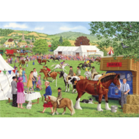 thumb-Horses for courses - puzzle of 500XL pieces-1