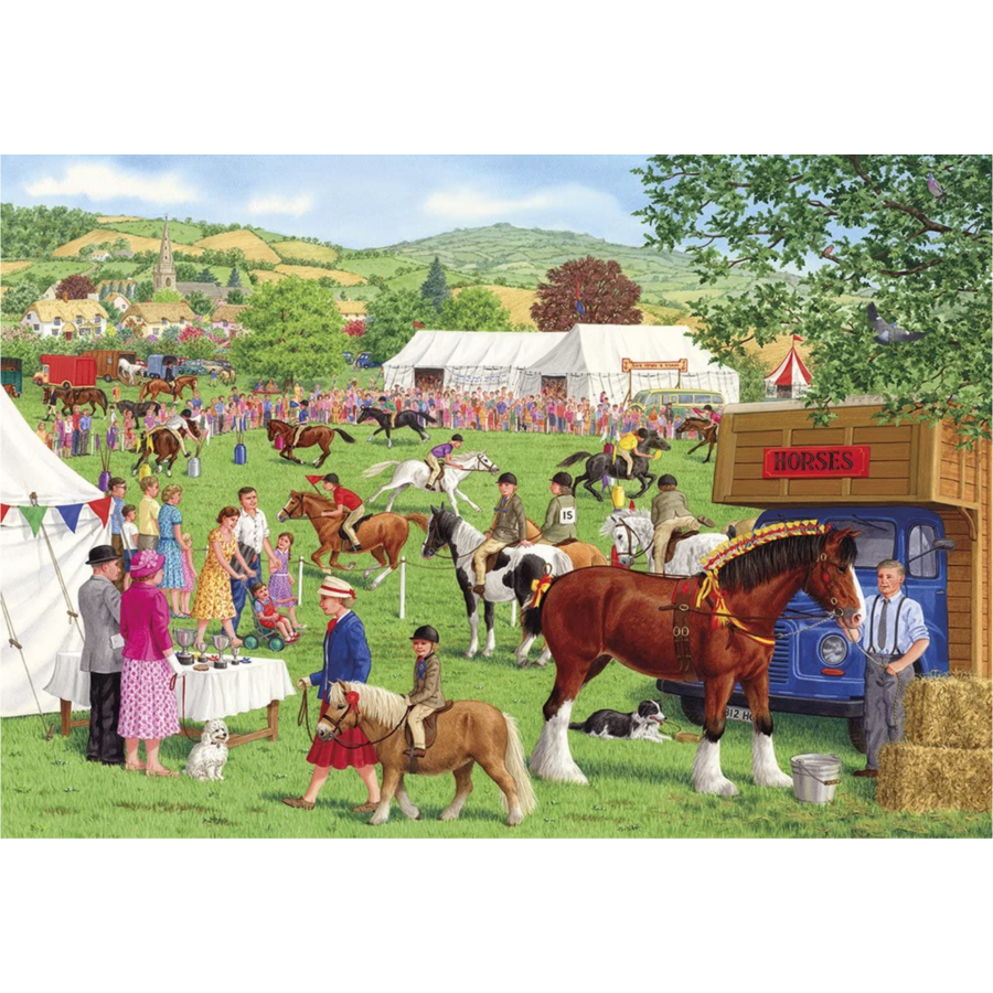 Horses for courses - puzzle of 500XL pieces-1