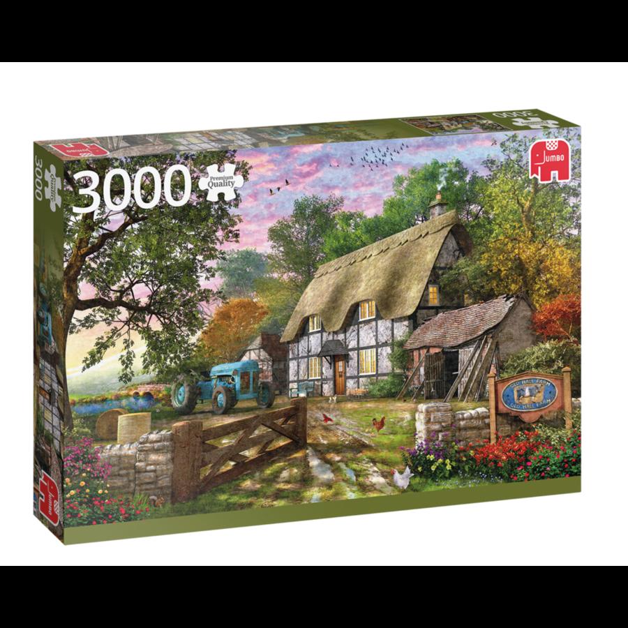 De cottage van de boer  - puzzel van 3000 stukjes-1