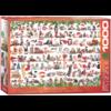Eurographics Puzzles Kerstkatten - puzzel van 1000 stukjes