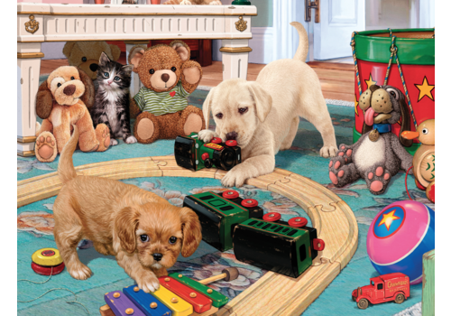 Playtime for the puppies - 300 XXL pieces