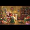 SUNSOUT Speciale levering van de Kerstman - legpuzzel van 550 XXL stukjes