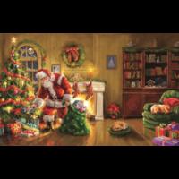 Speciale levering van de Kerstman - legpuzzel van 550 XXL stukjes