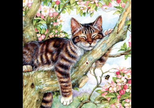 SUNSOUT Le chat endormi - 500 pièces