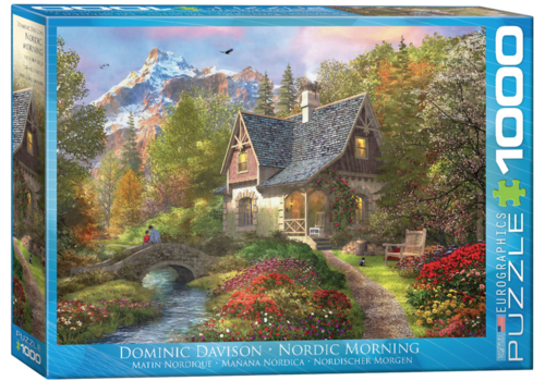 Eurographics Puzzles Nordic Morning - 1000 stukjes