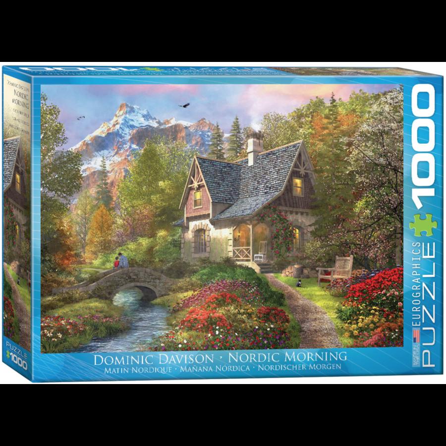 Nordic Morning - puzzel van 1000 stukjes-1