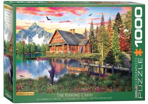 Eurographics Puzzles The Fishing Cabin - 1000 pieces