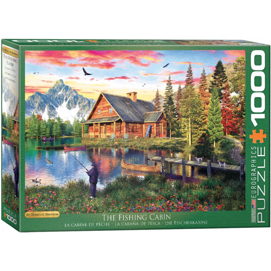 De vissershut - puzzel van 1000 stukjes-1