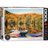 Eurographics Puzzles Lakeside Cottage - Quebec - 1000 pieces - jigsaw puzzle