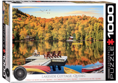 Eurographics Puzzles Lakeside Cottage - Quebec - 1000 pieces