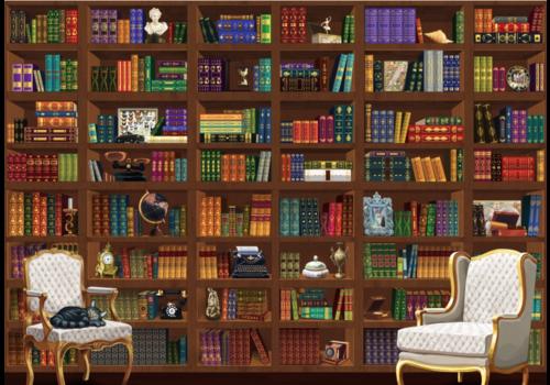 De vintage bibliotheek - 6000 stukjes