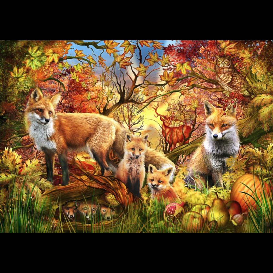Esprit de l'automne - puzzle de 1500 pièces-1