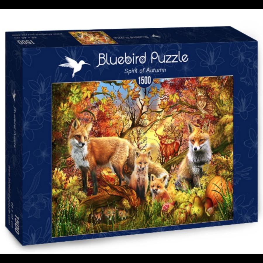 Esprit de l'automne - puzzle de 1500 pièces-2