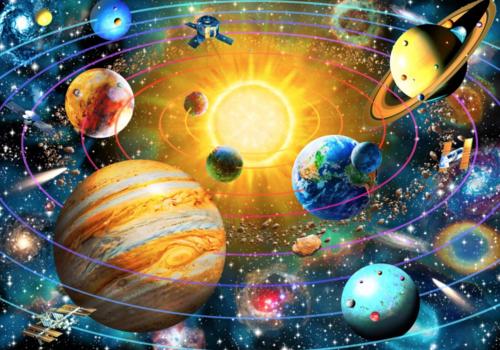 Bluebird Puzzle Het zonnestelsel - 1500 stukjes