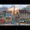Bluebird Puzzle Les rues de Paris - puzzle de 1000 pièces