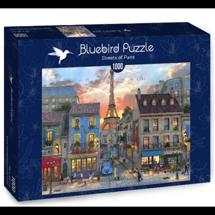 Les rues de Paris - puzzle de 1000 pièces-2