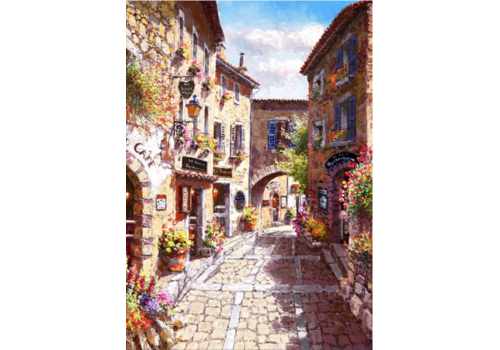 The streets of Eze - 1000 pieces