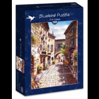 thumb-Les rues de Eze - puzzle de 1000 pièces-2
