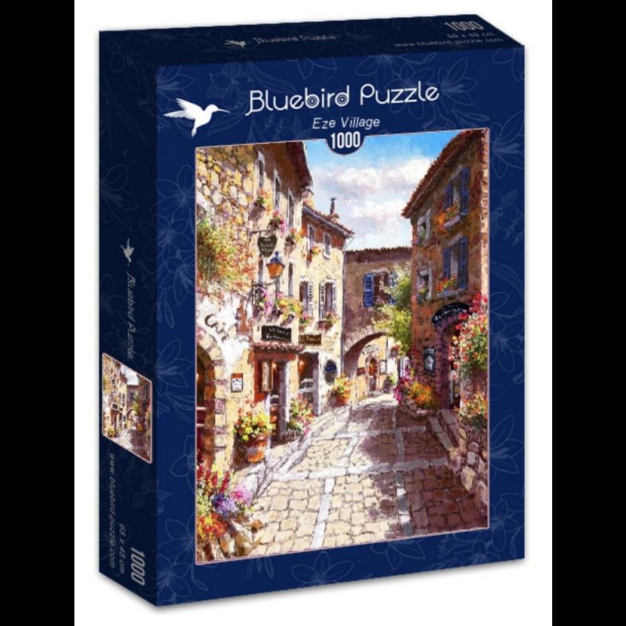 Les rues de Eze - puzzle de 1000 pièces-2