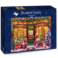 thumb-The Festive Shop - puzzle of 1000 pieces-1