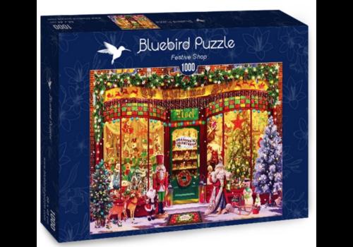 Bluebird Puzzle Le magasin de Noël - 1000 pièces
