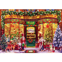 thumb-The Festive Shop - puzzle of 1000 pieces-2