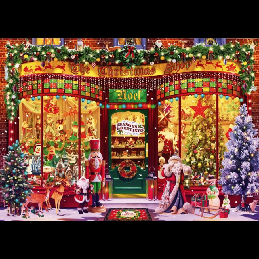 De kerstwinkel - puzzel van 1000 stukjes-2