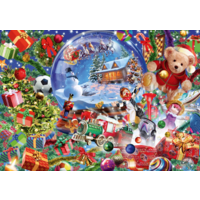 thumb-Christmas Globe - puzzle of 1000 pieces-1
