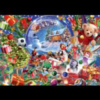 thumb-De sneeuwbol in kerstsfeer - puzzel van 1000 stukjes-1