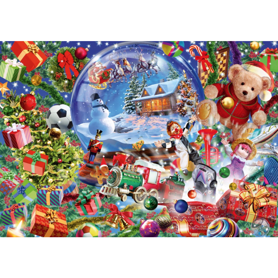 Christmas Globe - puzzle of 1000 pieces-1