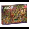 Jumbo La forêt magique au coucher du soleil - puzzle de 2000 pièces
