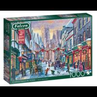 thumb-Kerst in York  - puzzel van 1000 stukjes-2