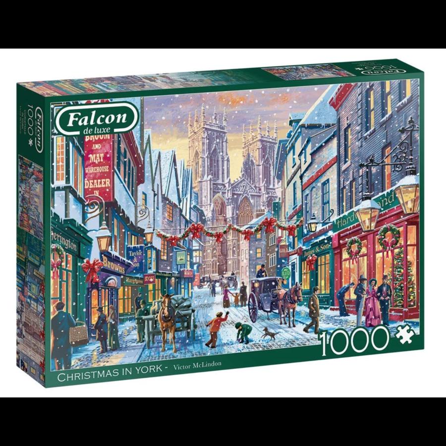 Kerst in York  - puzzel van 1000 stukjes-2