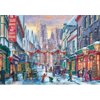 Falcon Kerst in York  - puzzel van 1000 stukjes