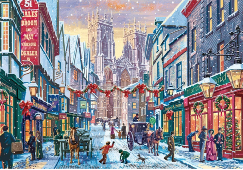Falcon Christmas in York - 1000 pieces