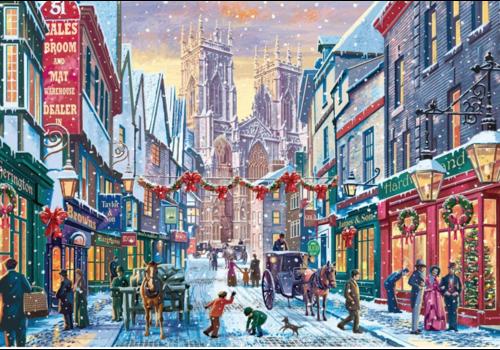 Falcon Kerst in York - 1000 stukjes