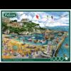 Falcon Haven van Newquay  - puzzel van 1000 stukjes