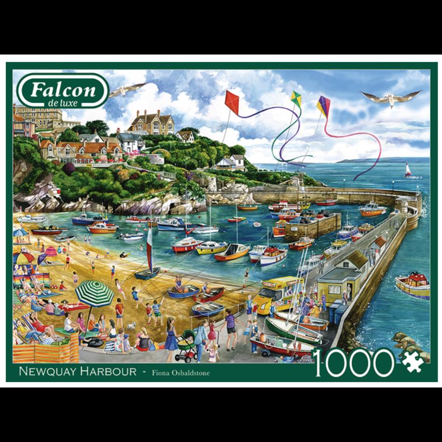 Haven van Newquay  - puzzel van 1000 stukjes-1
