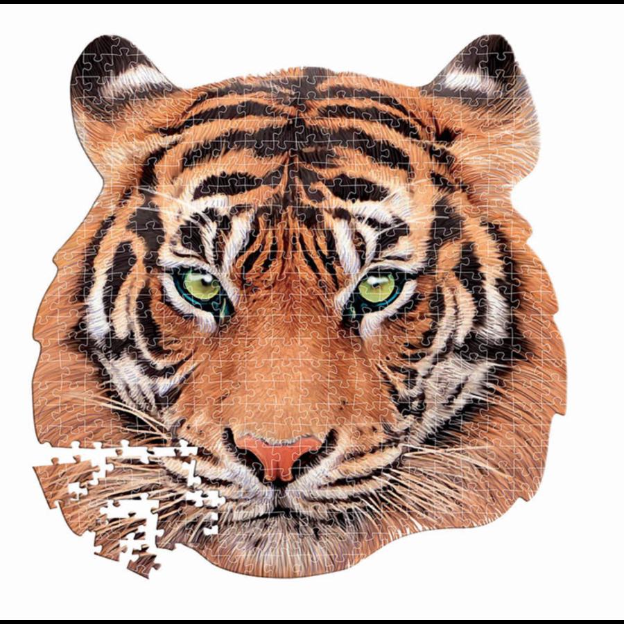 Tijger - vormenpuzzel - puzzel van 375 stukjes-1