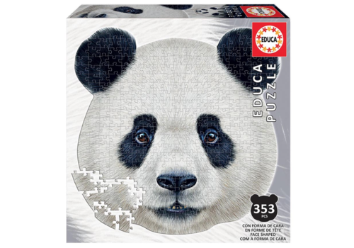 Panda - puzzel van 353 stukjes